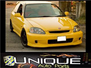 Front Lip Type R Civic 99-00 Puerto Rico UNIQUE AUTO PARTS