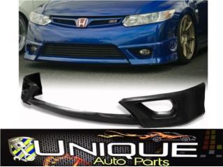 Front Lip Civic 2DR 2006-2008 Coupe Puerto Rico UNIQUE AUTO PARTS