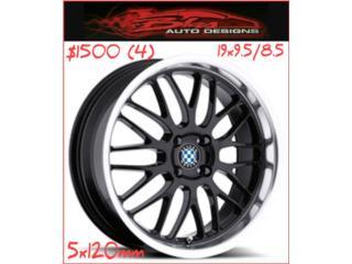 AROS/WHEELS 19X9.5/8.5 SET (4) Puerto Rico BLAS AUTO DESIGNS