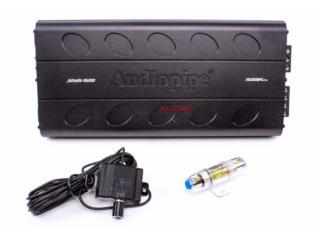 AUDIO PIPE planta 5 canales de 1600 watts. Puerto Rico Top Electronics
