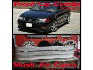FRONT LIP COROLLA -2001- 2002 - FLEXIGLASS Puerto Rico MUSIC ON AUTO ACCESSORIES INC.