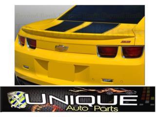 Spoiler de Baul Camaro 10-13 Puerto Rico UNIQUE AUTO PARTS