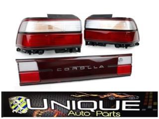 Combo Focos Japoneses Corolla 93-97 3PCS Puerto Rico UNIQUE AUTO PARTS