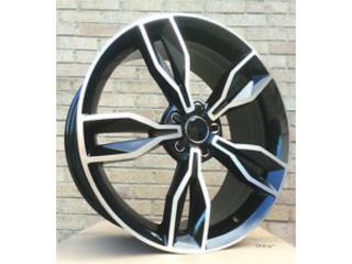 Aros de Audi S3 19x8 Black Polished Puerto Rico Aros Y Gomas Inc.