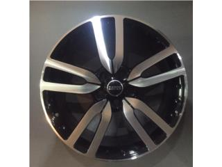 Aros 20x9.5 de Range Rover | Black Polished Puerto Rico Aros Y Gomas Inc.