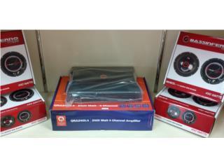Combo 4 Voces 8-450W+Planta 3400-4 Watts Puerto Rico Top Electronics