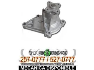 BOMBA DE AGUA 2000-2008 TOYOTA COROLLA Puerto Rico Tu Re$uelve Auto Parts
