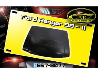 BONETE Ford RANGER 1998 - 2011 Puerto Rico CARZ Body Parts