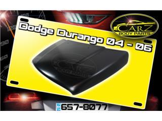 BONETE Dodge DURANGO 2004 - 2006 Puerto Rico CARZ Body Parts