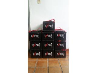 Batería Ex-pro con Garantia  $36.99 Puerto Rico Top Solution Speed