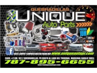 Unique Auto Parts Speed Shop & Body Parts Puerto Rico UNIQUE AUTO PARTS