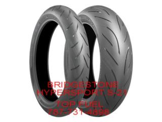 BRIDGESTONE S-21 HYPERSPORT 190/50/17 Puerto Rico TOP FUEL TECH