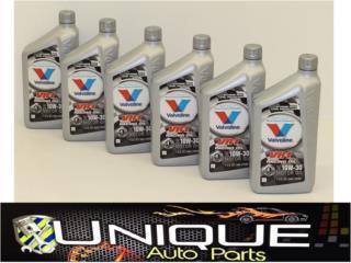 Valvoline VR1 Aceite Racing Puerto Rico UNIQUE AUTO PARTS