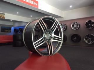 Aros 19x8.5 y 19x9.5 AMG para Mercedes Benz Puerto Rico Aros Y Gomas Inc.