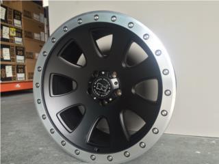 *SALE* Black Rhino Wheels 500 20x10 para 4x4 Puerto Rico Aros Y Gomas Inc.