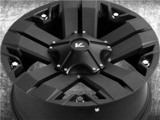 *SALE* 5 Aros V-Rock Recon 18x9 para Jeep JK Puerto Rico Aros Y Gomas Inc.