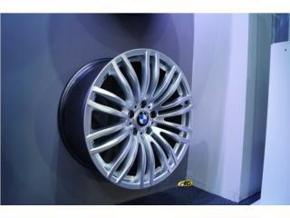 *ESPECIAL*  BMW M5 20x8.5/9.5 Silver $700 Puerto Rico Aros Y Gomas Inc.