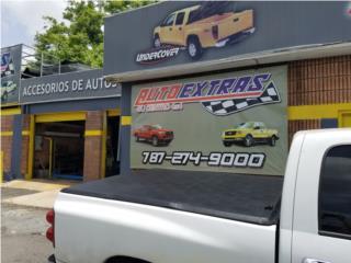 Lona Plegadiza Puerto Rico AUTO EXTRAS SU CENTRO 4 X 4