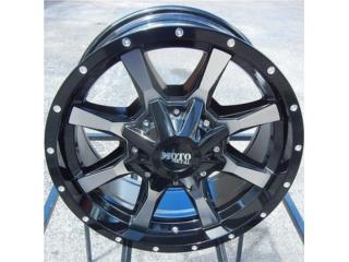 *ESPECIAL* Moto Metal 970 18x10 6x139 Puerto Rico Aros Y Gomas Inc.