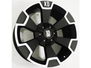 *ESPECIAL* XD Series 803 18x9 8 Rotos  Puerto Rico Aros Y Gomas Inc.