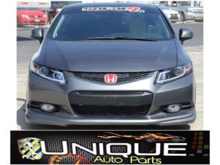 Front Lip Honda Civic 12-13 Puerto Rico UNIQUE AUTO PARTS