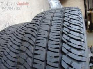 Gomas 275/65/20 usadas con garantia {Pickup} Puerto Rico Bayamon Tire Distributors