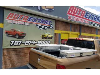 Cajas de herramienta para variedad de Pick Up Puerto Rico AUTO EXTRAS SU CENTRO 4 X 4