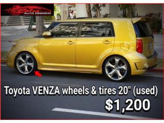 AROS/WHEELS TOYOTA VENZA 20 Puerto Rico BLAS AUTO DESIGNS