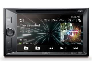 SONY Nuevo AM-FM-CD-DVD-BT Puerto Rico Top Electronics