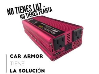 INVERTERS 400w-800w-1000w-1500w-2000w-3000w Puerto Rico Car armor,INC
