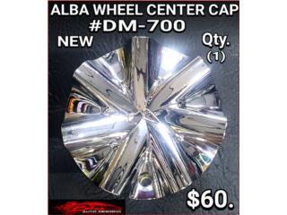 ALBA WHEEL CENTER CAP #DM-700 Puerto Rico BLAS AUTO DESIGNS