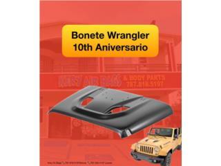 Bonete Jeep Wrangler 10th aniversario  Puerto Rico Kery Air Bags And Body Parts