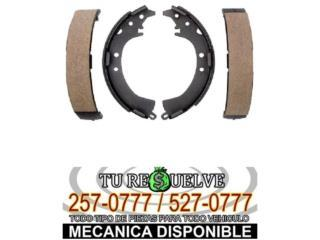 BANDAS FRENOS NISSAN PICK UP 65-82 SOLO $15 Puerto Rico Tu Re$uelve Auto Parts