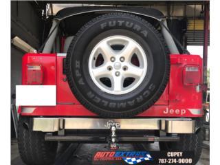 Pega de arastre para variedad de vehiculos Puerto Rico AUTO EXTRAS SU CENTRO 4 X 4