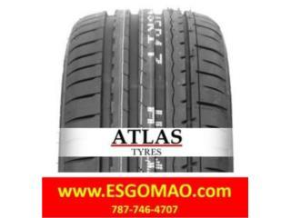 185/65R14 ATLAS - TRAC. & TEMP. A, TW 600 Puerto Rico CentroGomas Villa del Rey