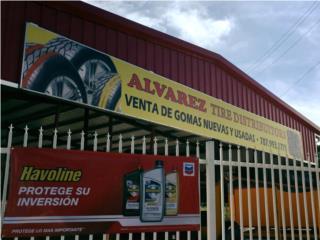 GOMAS USADAS 185/60R14  4 X $90.00 Puerto Rico ALVAREZ TIRE DISTRIBUTORS