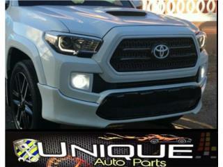 Front Lip Tacoma 16-17 Puerto Rico UNIQUE AUTO PARTS