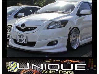 Front Lip Yaris Sedan Puerto Rico UNIQUE AUTO PARTS