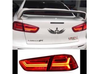 Focos Lancer 08-16 Tipo Audi Puerto Rico UNIQUE AUTO PARTS