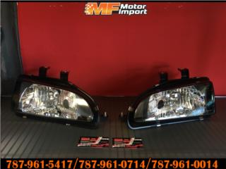 HEADLIGHTS Civic 92-95 No Corner!! Puerto Rico MF Motor Import