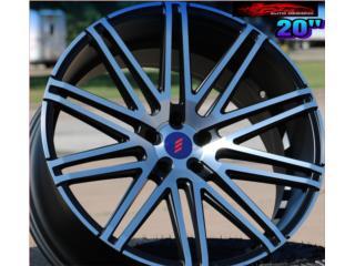 AROS/WHEELS ELEGANTE WHEELS 20''X10/8.5 Puerto Rico BLAS AUTO DESIGNS