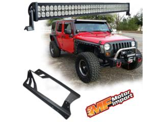 KIT Para Jeep LED BAR 52