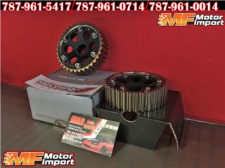 RACING CAM GEARS Para Honda Civic, INTEGRA!! Puerto Rico MF Motor Import