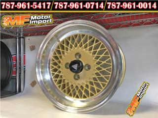 Enkei 92 15X8 4X100 25 Off Set GOLD!! Puerto Rico MF Motor Import