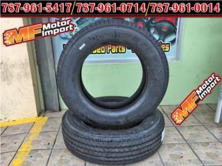 GOMAS NUEVA NUNCA USADAS Keter 255/70R22.5-1 Puerto Rico MF Motor Import