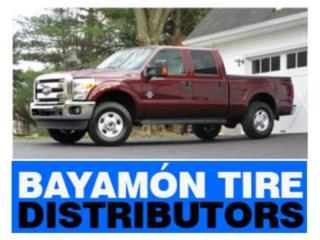 Gomas 245/75-17 usadas con garantia Puerto Rico Bayamon Tire Distributors