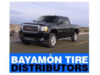 Gomas 245/70-17 usadas con garantia Puerto Rico Bayamon Tire Distributors