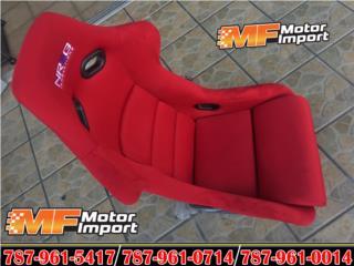 NRG RACING BUCKET SEAT FRP-300RD!! Puerto Rico MF Motor Import