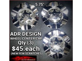 ADR DESIGN WHEEL CENTER CAP Puerto Rico BLAS AUTO DESIGNS