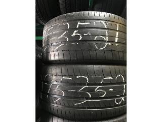 2 Gomas Usadas 295/35/21 Michelin Puerto Rico GOMERA ESPINAL